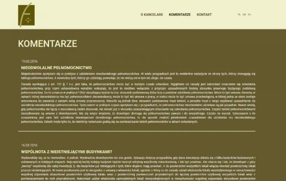Kancelaria Radcy Prawnego Moniki Frontczak